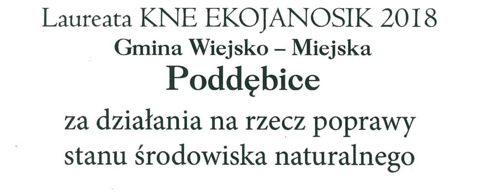 """""""EkoJanosik"""" dla Poddębic"""