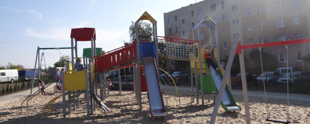 Zapraszamy na otwarcie placu zabaw i siłowni plenerowej