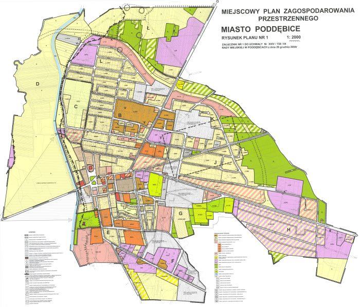 Miejscowy Plan Zagospodarowania Przestrzennego.