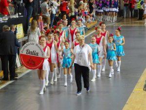 """Mażoretki """"Dalia"""" (archiwum zespołu)"""