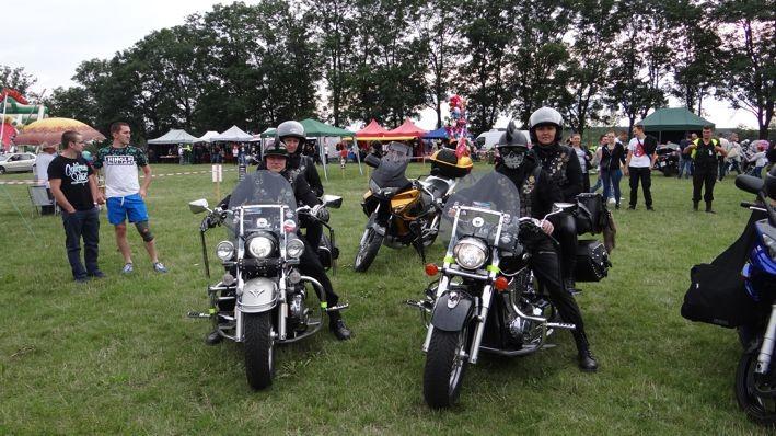 Motocykliści opanowali Poddębice