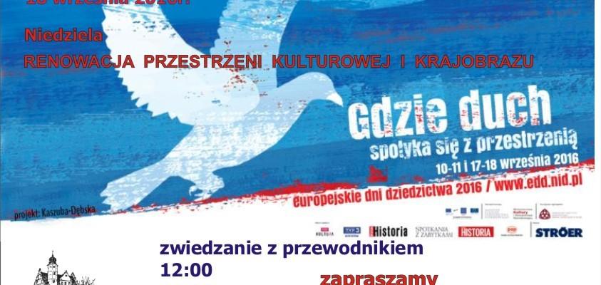 Europejskie Dni Dziedzictwa w Poddębicach