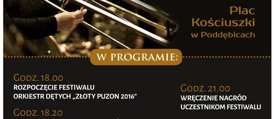 """Festiwal Orkiestr Dętych """"Złoty Puzon 2016"""""""