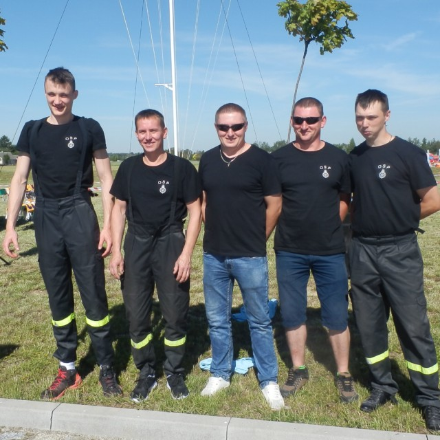 OSP Sworawa szósta w Zawodach Drużyn Ratownictwa Powodziowego