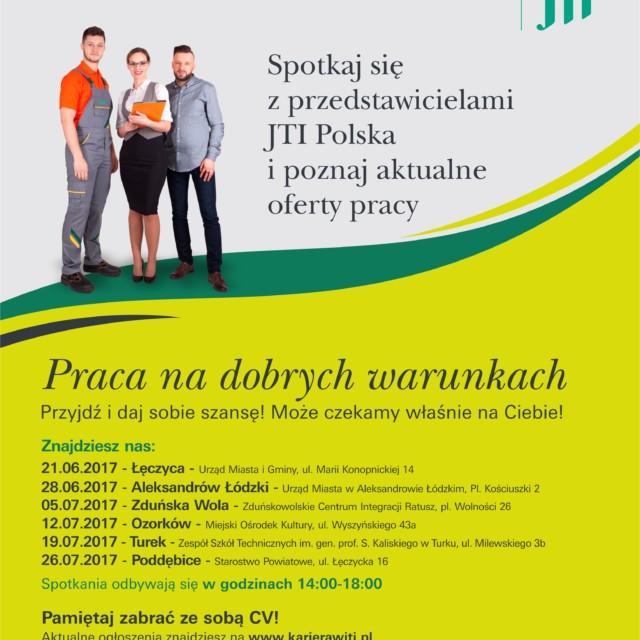 JTI Polska szuka pracowników