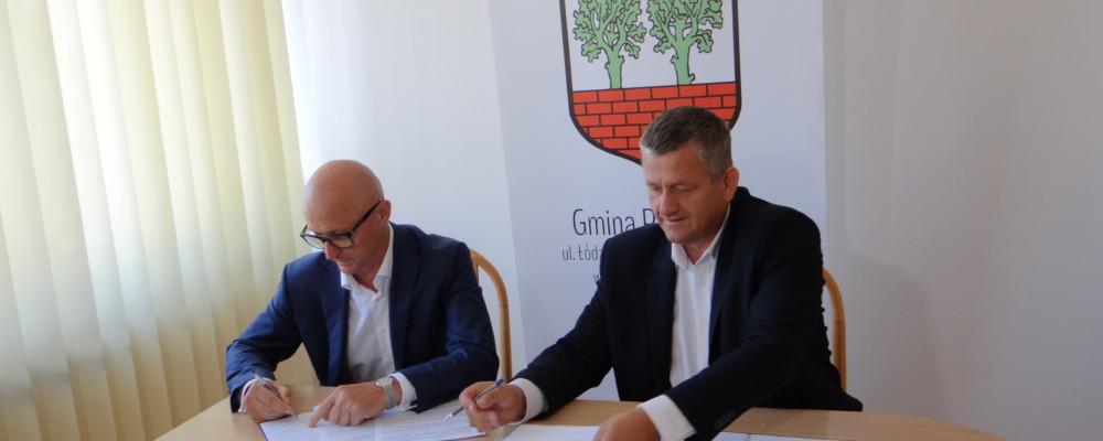 Umowa na budowę sieci podpisana