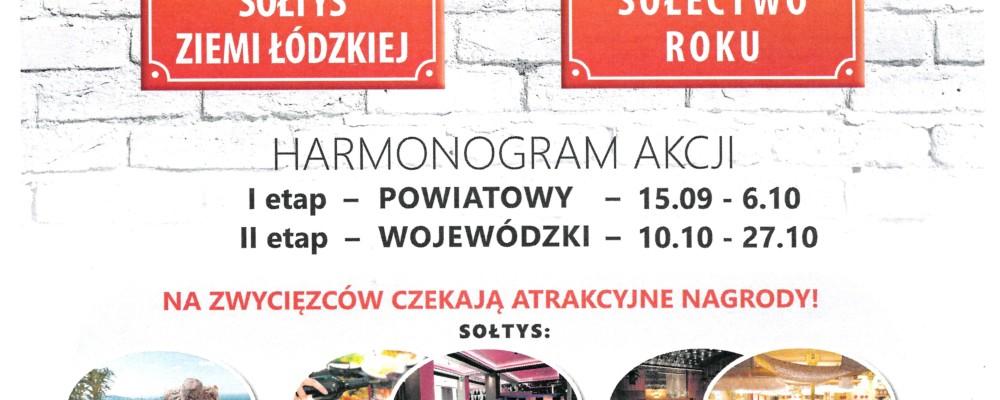 """""""Sołtys Ziemi Łódzkiej i Sołectwo Roku 2017"""""""