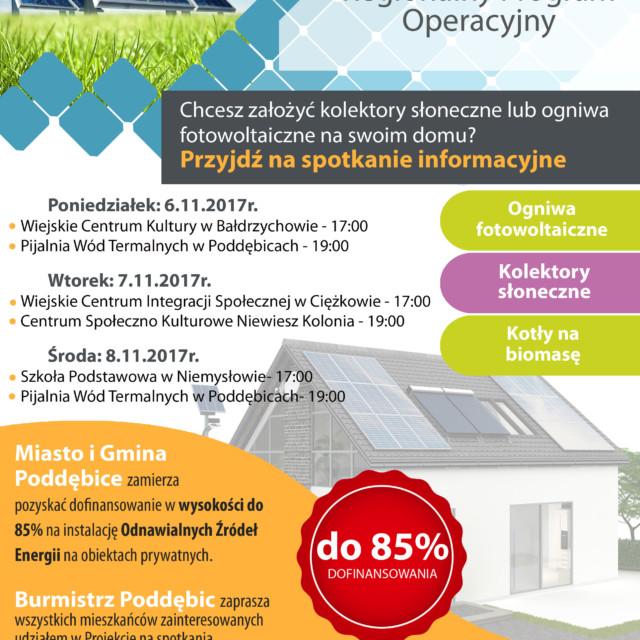 OZE – Regionalny Program Operacyjny