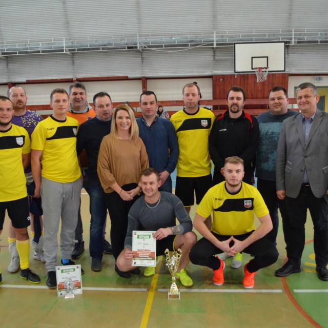 Halowy turniej piłkarski druhów strażaków