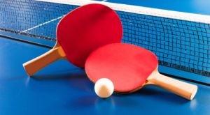 Zaproszenie na turniej tenisa stołowego