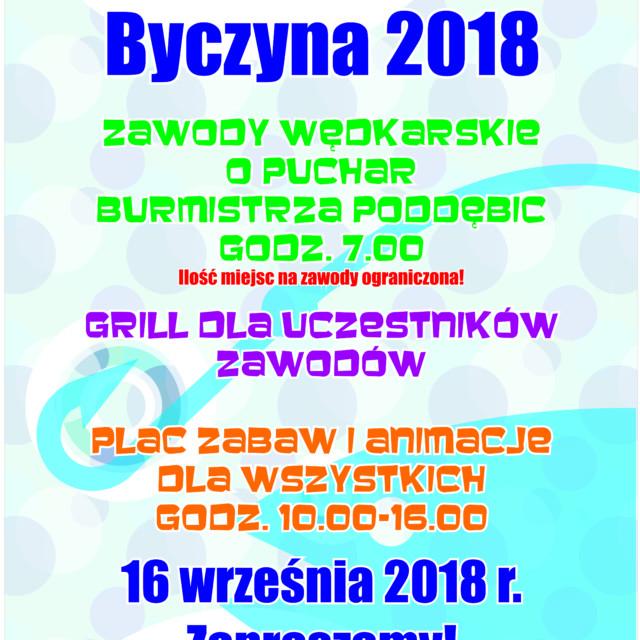 Piknik Wędkarski Byczyna 2018