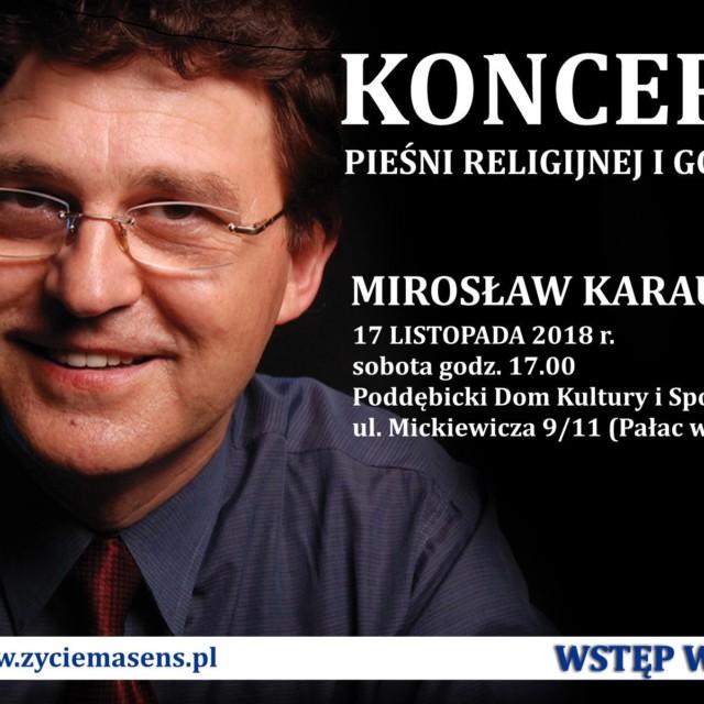 """Zaproszenie na """"Koncert Pieśni Religijnej i Gospel"""""""