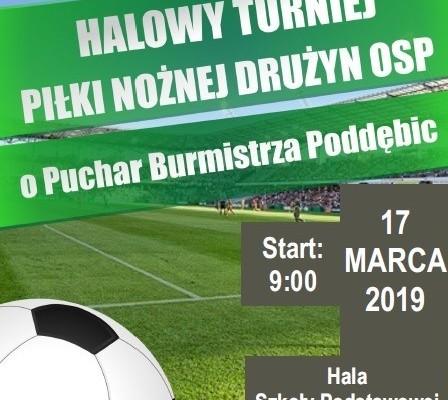 Halowy Turniej Piłki Nożnej Drużyn OSP