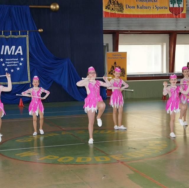 VIII Otwarte Mistrzostwa Mażoretek Polski Środkowej Poddębice 2019