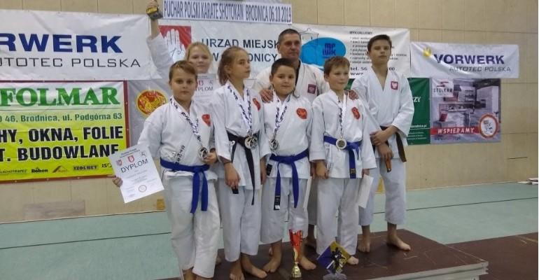 Poddębiccy karatecy błysnęli formą