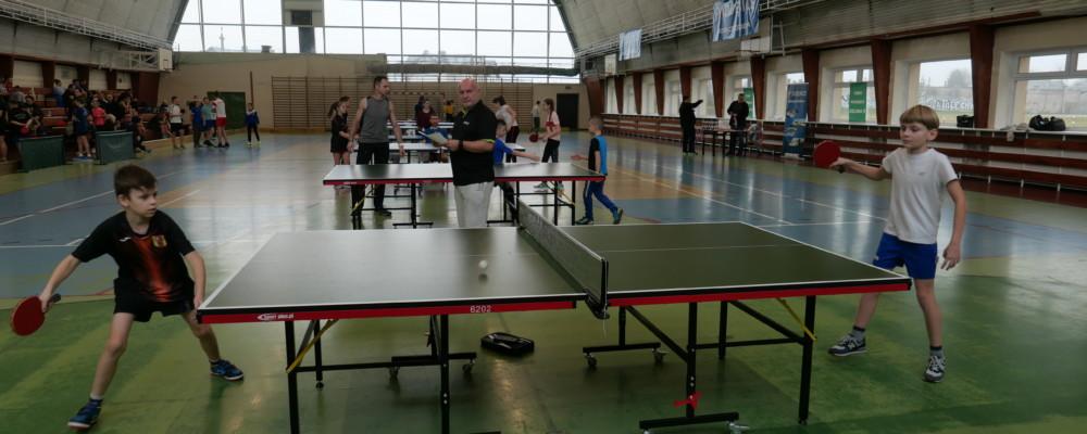 Otwarty Turniej Tenisa Stołowego o Puchar Burmistrza