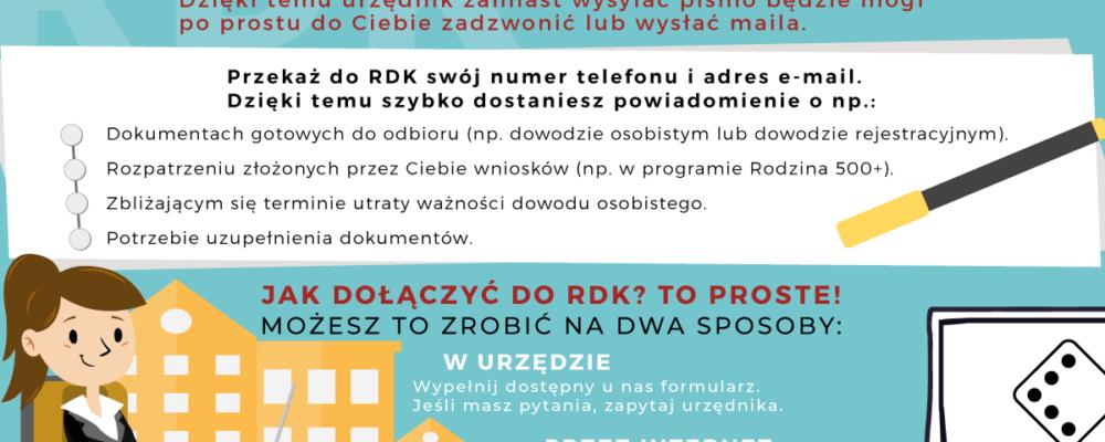 Informacja o Rejestrze Danych Kontaktowych
