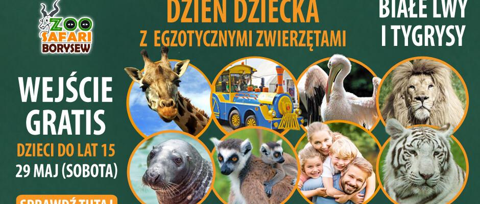 Dzień Dziecka z egzotycznymi zwierzętami